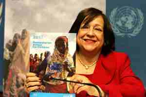 UNICEF appeals for US$1.28 billion for its humanitarian operations to assist children in 2012